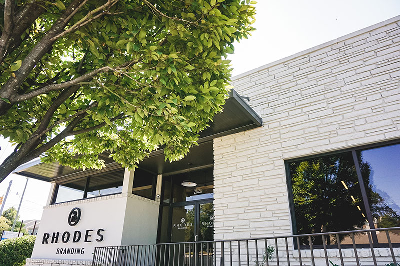 Rhodes Branding is located at 2628 Millwood Avenue in Columbia.