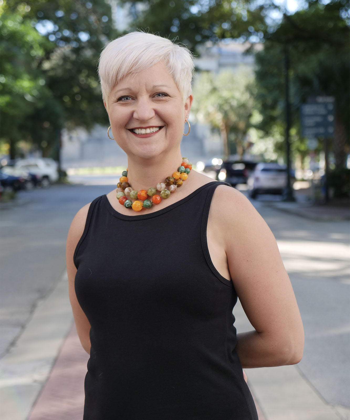 Jennifer Tausch is the Vice President of Creative at Rhodes Branding